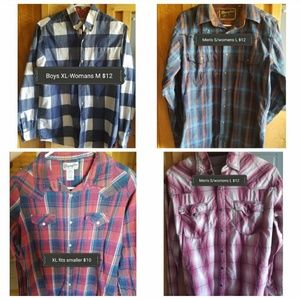 Other - Will seperate! Western Rodeo Plaid button ups
